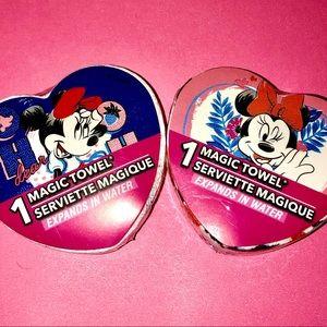 "➕ $5 ADD-ON ❤️ Minnie Mouse ""Magic"" Towels"